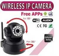 Home IP Camera 1.0 Megapixel WIFI LED 2-Way Audio Webcam Nightvision