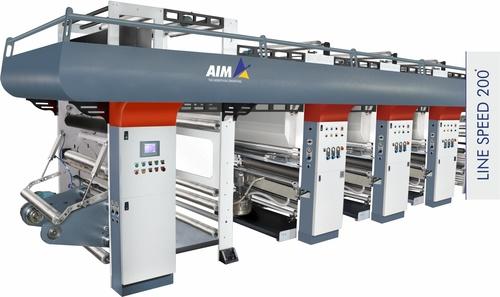 Turret Rotogravure printing machine
