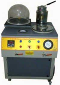 Investment vacuum casting machine