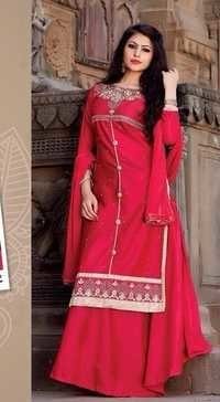 Cotton Unstitched Salwar Kameez