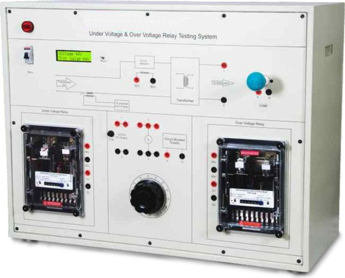 Under Voltage & Over Voltage Relay Testing System