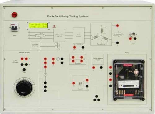 Earth Fault Relay Testing System