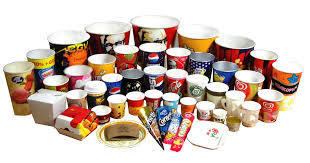 NEW DESIGN COULOUR PRINTED PLASTIC CUP BOWL PP HIP EPS ETC URGENT SALE IN TUNDLA U.P