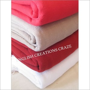 Manufactures Cotton Throws