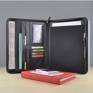 Multi-Purpose Business Portfolio NotePad Velvet Interior Case for iPad