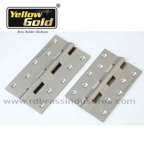 Solid Brass Railway Hinges