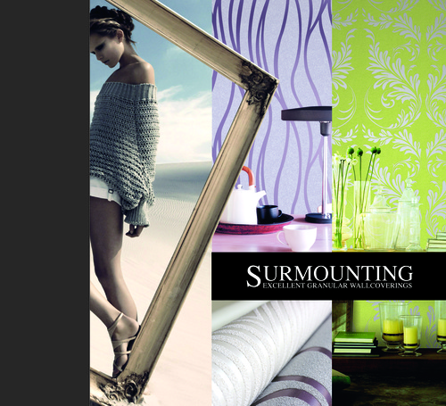 Surmounting Wall Covering