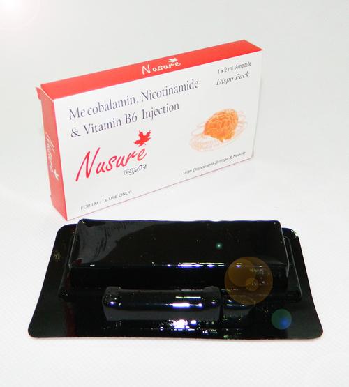 Methyylcoblamin,Nicotinamide & Vitamin B6 inj
