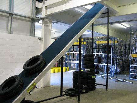 Electrical Parts Assembly Belt Conveyor