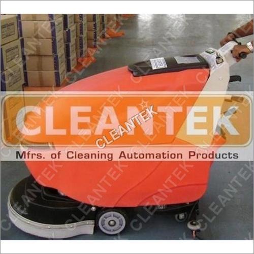 Industrial Floor Scrubber