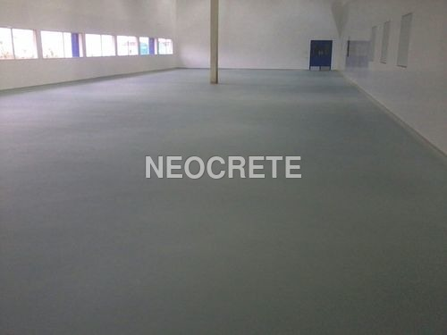 Aqueous Epoxy Screed