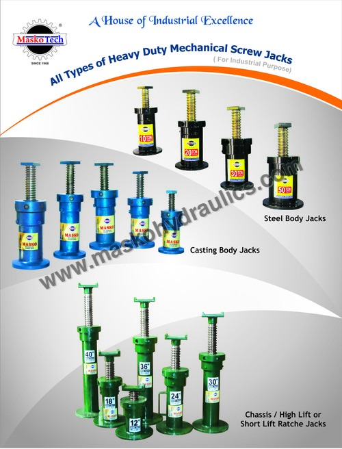 Heavy Duty Screw Jacks