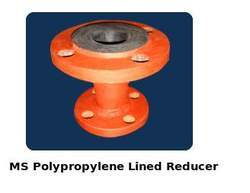 MS Polypropylene Lined Reducer