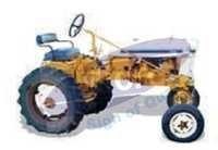 Demonstration Tractor Differential