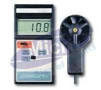 Electronic Anemometer With Temperature Measurement