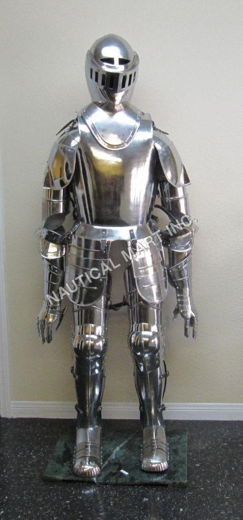 Armor Medieval Vintage Mid Century Suit