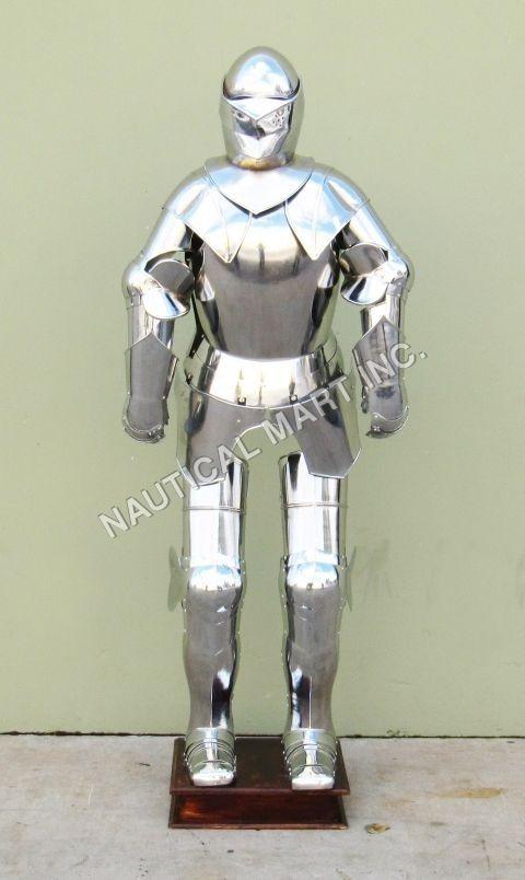 Armour Gothic Combat Knight Suit