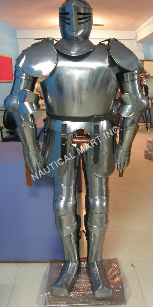 18 Gauge Steel Full Armor Suit