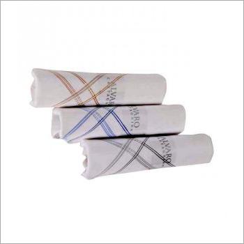 Alvaro Classic White Handkerchief Set