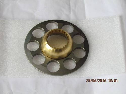 SET PLATE WITH VALVE GUIDE