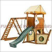 Wood Composite Jungle Gym