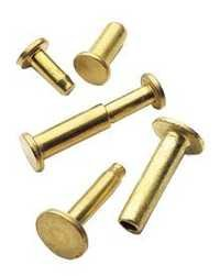 Heavy Duty Brass Rivets