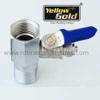 Brass Filter RO Valve