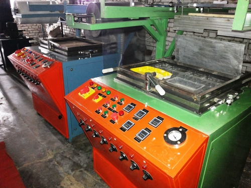 EXTRA OFF 50.000 SD 750 THERMOCOLE TYPE GLASS,CUP PLATE MACHINE URGENT SALE IN ITTAVA U.P