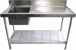 Work Table Wash Sink