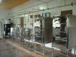 Steam Operated Idli Cooking Plant