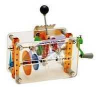 Gear Box(Three speed & reverse gear)