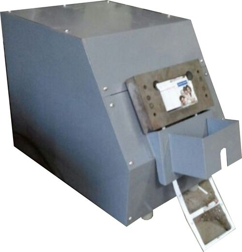 Motorized Single Die ID Card Cutter