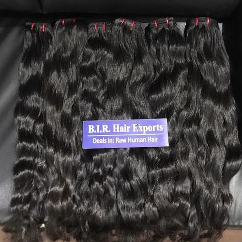 Raw hair wavy
