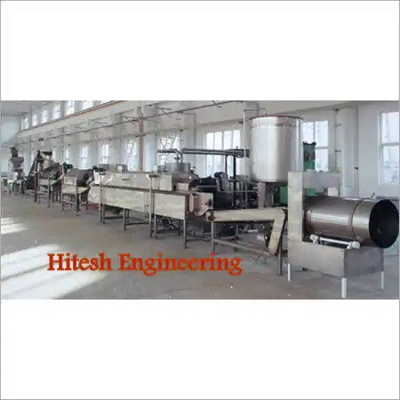 Semi Automatic Pellet Frying Line