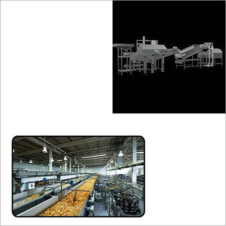 Snack Pellet Frying Line