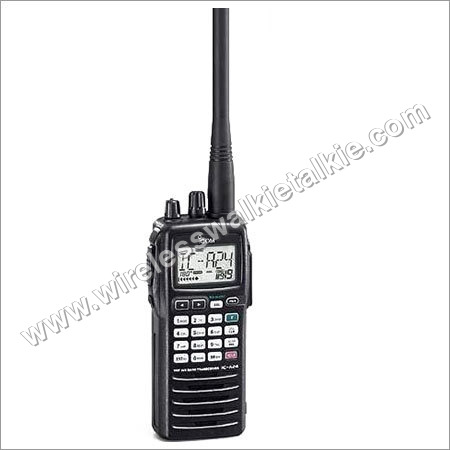 ICOM air band radio IC-A24