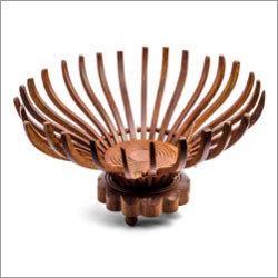 Mahogany Wooden Fruit Baskets
