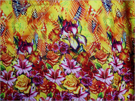 Floral Printed Digital Fabric