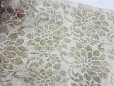 Net Brasso Zari Work Fabric