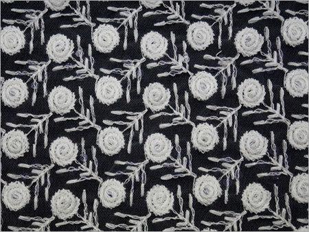 Net Custom Embroidery Fabric