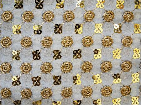 Viscose Zari Work Fabrics