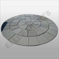 Circle OfKota Blue Limestone