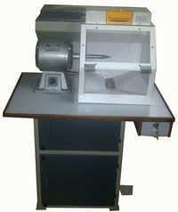 Single station buff polishing machine
