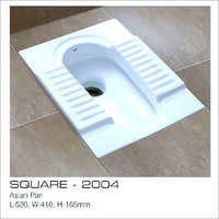 Washdown Squatting Pan Toilet