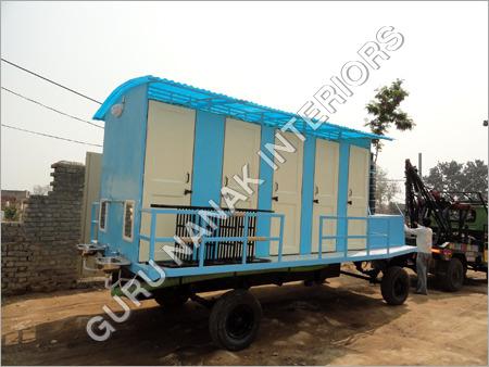10 Seater Economy Portable Toilets