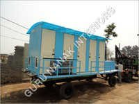 10 Seater Economy Portable Toilets