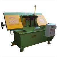 Swing Type Semi Automatic Band Saw Machine