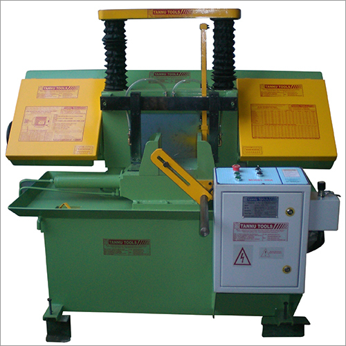 Double Column Semi Automatic Band Saw Machine