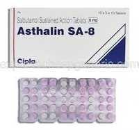 Asthalin SA-8MG Tabs