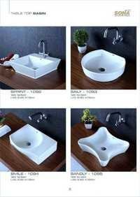oval table top basin